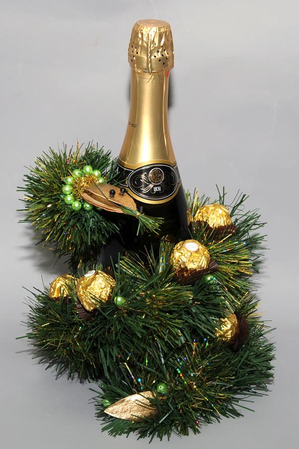 шампанское в год змеи