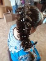 пятипрядная коса- 800 р, 2 косы- 1000 р.