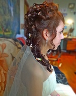 Свадебная прическа- 1500 р. Тема: http://www.school-we.ru/forum/index.php?showtopic=32551&hl=