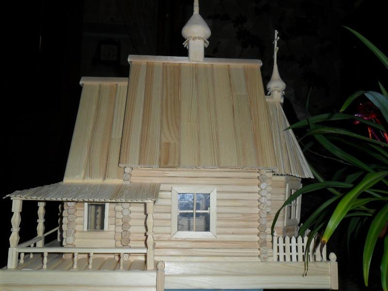 Макет Филаретовской церкви