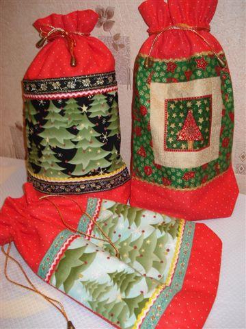 новогодние мешочки